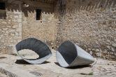 2018  Colonne et anneaux ,  Biennale Internationale, Saint-Paul de Vence